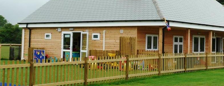 Playschool with Siberian Larch exterior