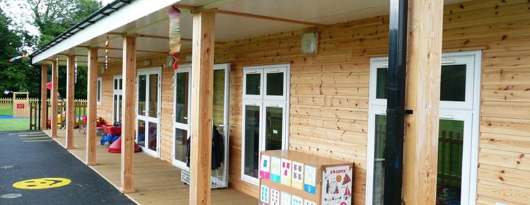 Playschool with Siberian Larch Cladding